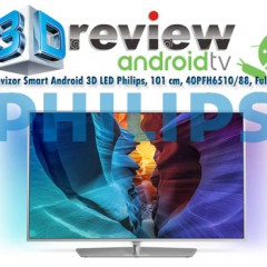 Review TV Smart Android 3D LED Philips 40PFH6510/88