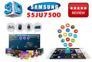 Review Televizor Samsung 55JU7500 LED 4K Ultra HD Curved Smart TV 3D