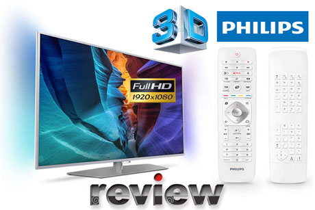 Review Televizor Smart 3D Philips 40PFH6510/88 Full HD