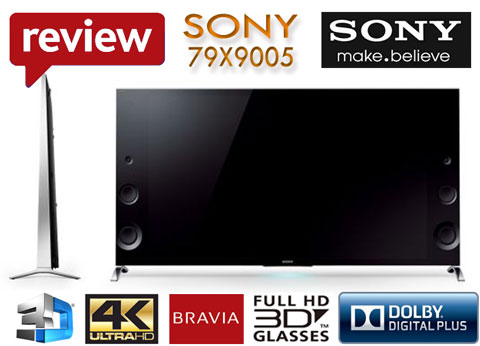 Televizor Smart Sony 79X9005 UltraHD 4K diagonala 200 cm