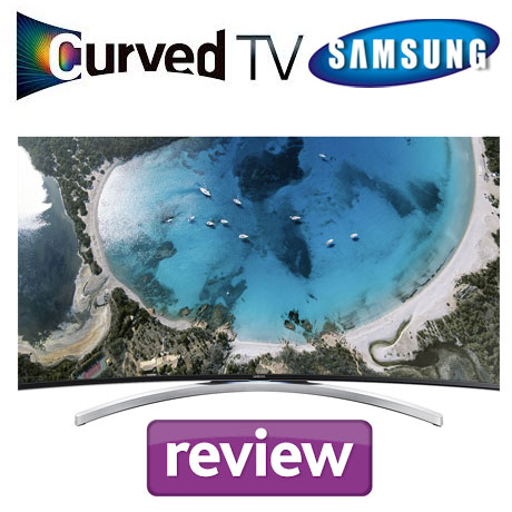 Televizor Interactiv Curbat LED Samsung 55H8000 Smart TV Review
