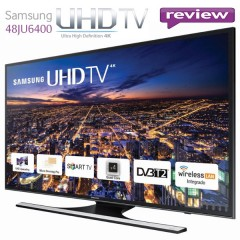 REVIEW Televizor LED Smart Samsung, 121 cm, 48JU6400, 4K Ultra HD