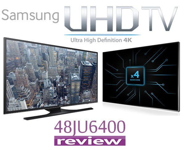 REVIEW Televizor LED Smart Samsung 121 cm 48JU6400 4K Ultra HD
