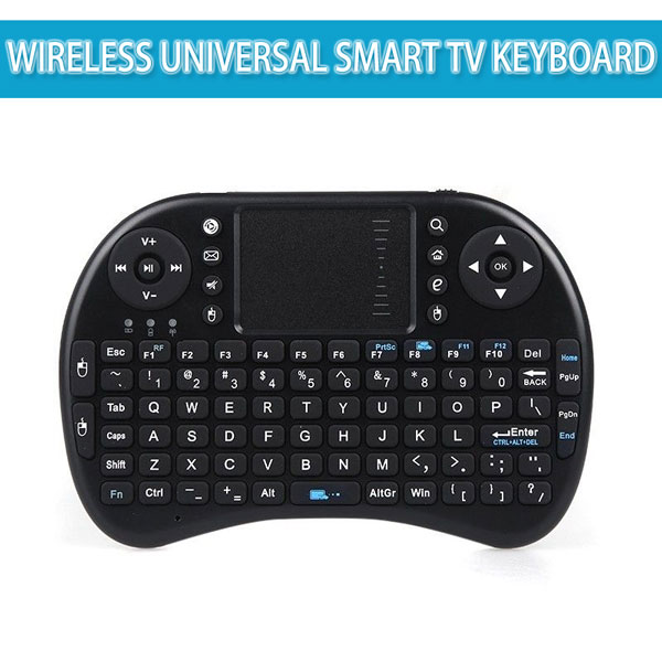 Tastatura mini wireless 3 in 1 compatibila Smart TV Wireless Universal Smart TV Keyboard