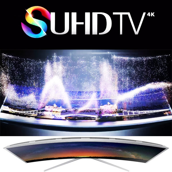 SUHD Smart TV Samsung 55JS9000 cu diagonala de 138 de cm