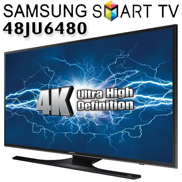 Televizoare Smart care Merita Televizor LED Smart Samsung, 121 cm, 48JU6480, UHD