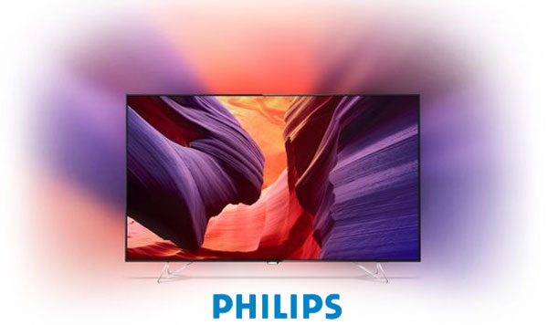 Televizor Smart Android TV Philips 65PUS8901 cu Ambilight si Ambilux