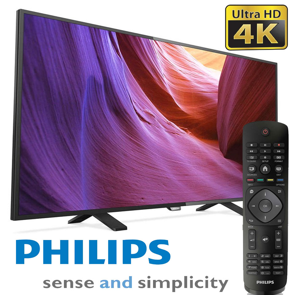 Televizoare Ieftine 4K Philips 43PUH4900-88 la Altex