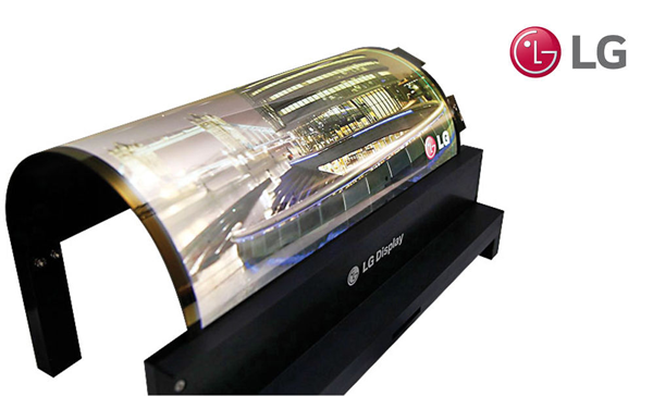LG Rollable Display - Televizorul care se impatureste rola