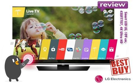 BEST-BUY inainte de Black Friday 2015 Smart TV LED LG 43UF7787 4K Ultra HD