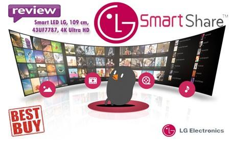 BEST-BUY Smart TV LED LG 43UF7787 4K Ultra HD - impresii si pareri