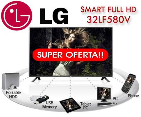Cel mai ieftin Televizor Smart LED de la LG 32LF580V