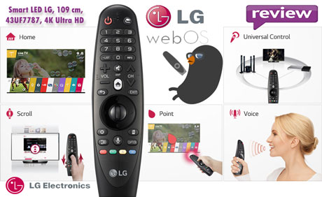 LG webOS TV este sistemul de operare standard al televizoarelor inteligente LG