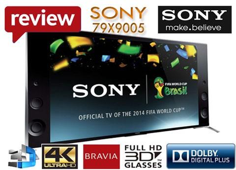 Prezentare Televizor Smart Sony 79X9005 UltraHD 4K 3D 200cm