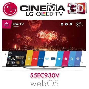 Review Televizor Curbat Smart 3D OLED LG 139 cm 55EC930V HD din oferta eMAG