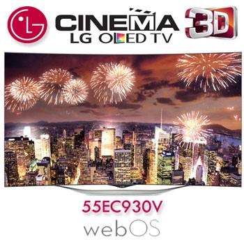 Review Televizor Curbat Smart 3D OLED LG 139 cm 55EC930V