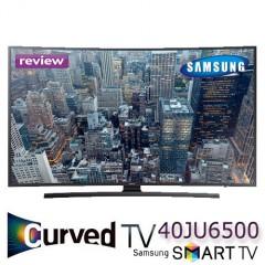 Cel mai ieftin TV Curbat Smart TV Samsung 40JU6500 4K Ultra HD