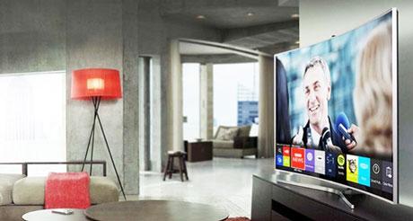 Designul Televizoarelor cu ecran curbat