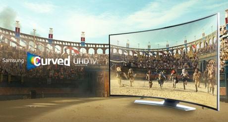 Ecranele Televizoarelor curbate mai au un avantaj ofera panoramare si adancime