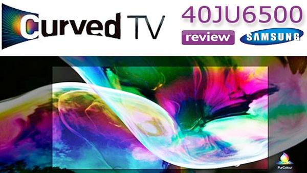 Review cel mai ieftin Smart TV 4K cu ecran curbat Samsung 40JU6500