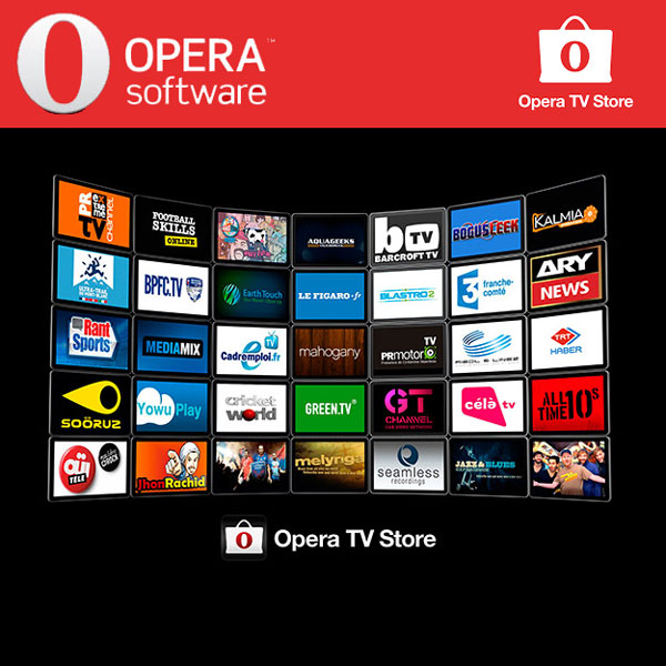 Aplicatii Televizoare Smart Opera TV Store HTML5