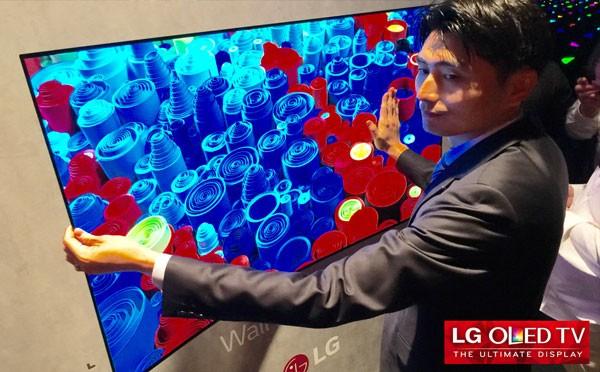 Cel mai subtire TV din lume Televizoarele OLED Flexibile de la LG