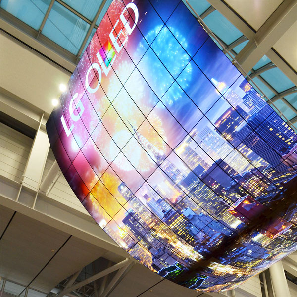 Cele mai mari televizoare OLED Curved din lume LG Display