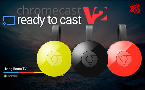 Informatii si Pareri Google Chromecast 2.0 Hdmi Streaming Media Player