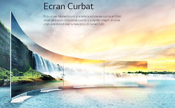 LG OLED Smart TV - Cand tehnologia 4K intalneste designul Art Slim Curved TV
