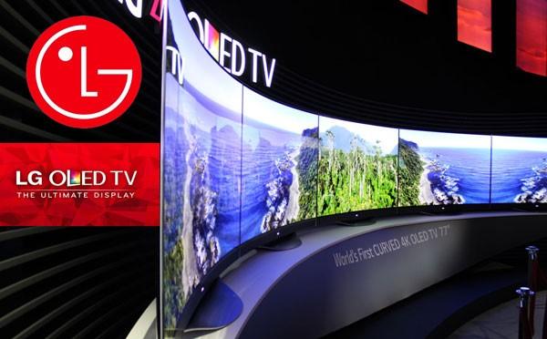 Primele Televizoare OLED cu Ecran Curbat din Lume produse de LG