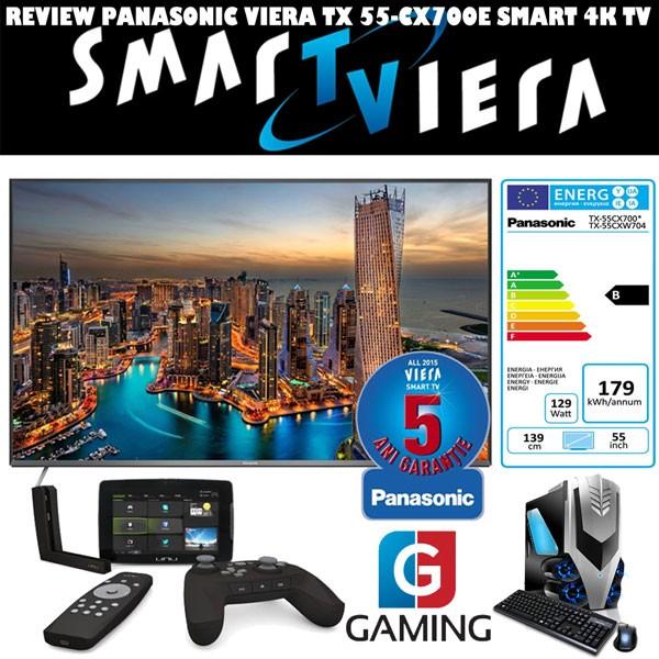 REVIEW Televizor Panasonic TX-55CX700E Un Smart TV 4K potrivit gamerilor - input lag 36ms