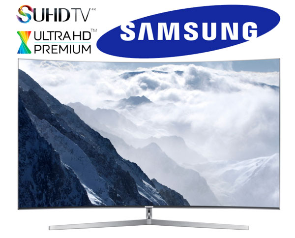 Review Samsung KS9500 SUHD TV 4K HDR Quantum Dots 2016 TV Curved Panel