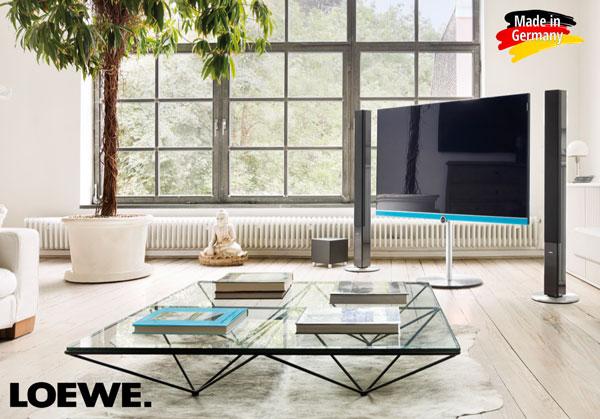 Televizoarele Premium 4K UHD 3D Loewe fabricate in Germania