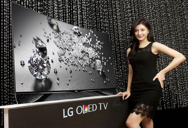 Televizorul Smart cu cristale Swarowski LG 55EA975V OLED TV