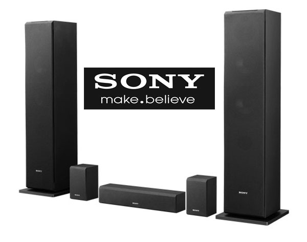 Boxele Audio TV Active 5.0 SONY SS-CS310CR cu Amplificator Subwoofer si SuperTweetere incluse