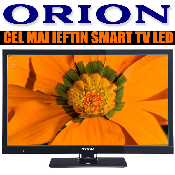 Cel mai ieftin Smart Tv Televizorul LED ORION T 22D/PIF/LED/SMART Full HD in oferta eMAG