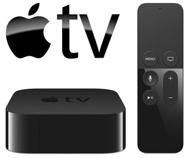 MediaPlayer-ul Apple TV v4 cu telecomanda Siri