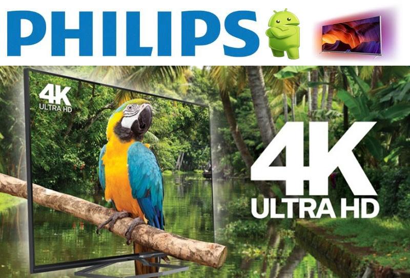 Televizoarele Smart Philips: 4K sau Full HD?