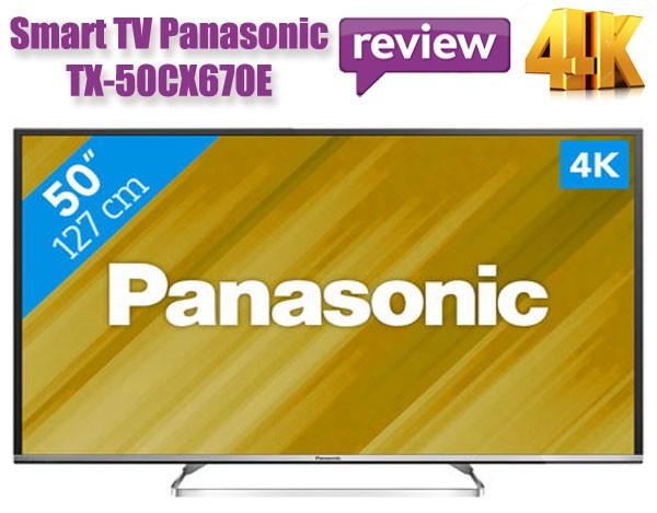 Pret redus T-Televizorul Panasonic Viera, TX-50CX670E 4K