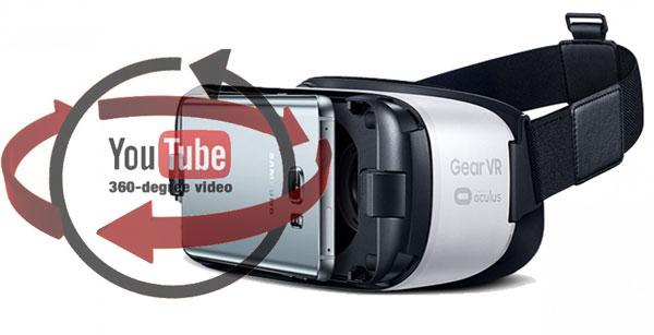 Samsung Gear VR si videoclipurile Youtube in format 360 de grade