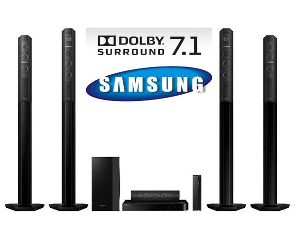 Sistem Home Cinema Smart Blu-ray 3D 7.1 SAMSUNG HT-J7750W/EN Wi-Fi Bluetooth