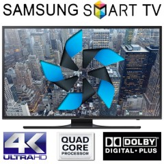 Scurt Review Televizor LED Smart Samsung, 48JU6480 4K UltraHD de 121 cm
