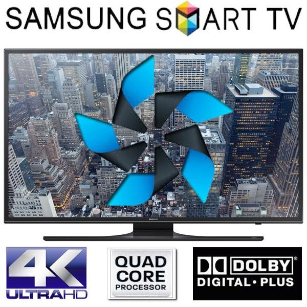 Televizor LED Smart Samsung TIZEN 121 cm, 48JU6480, UHD