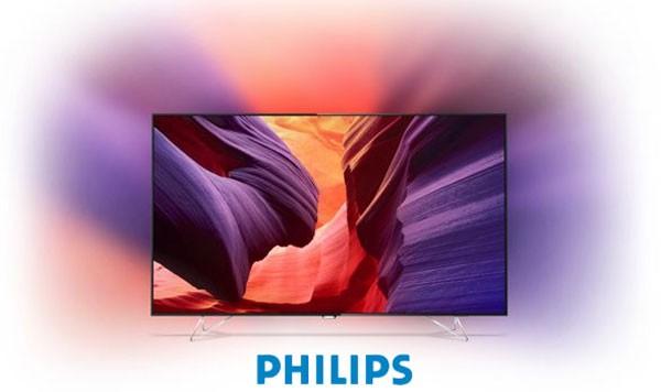 Televizor Smart Android TV Philips 65PUS8901 cu Ambilight si Ambilux
