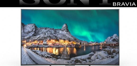 Televizoarele Smart Sony Android cu ecran curbat BRAVIA 55S8005C si 65S8005C