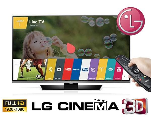 Televizor Smart 3D LG cu tehnologie pasiva Review 42LF652V Full HD