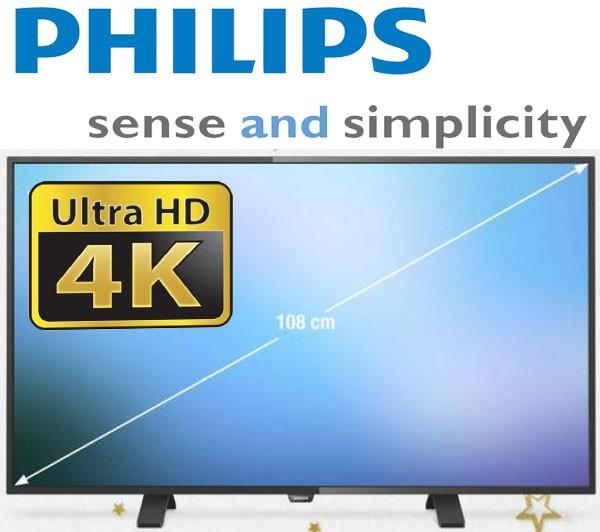 Pareri Pro si Contra 4K Philips de 43 de inch (109 cm) PUH4900 88