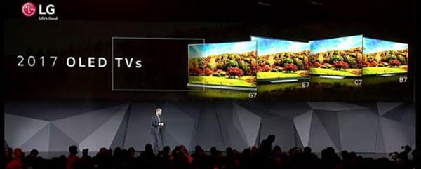 Lansarea lui LG OLED TV Signature W7 la CES2017 in Las Vegas