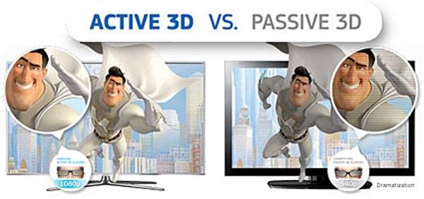 Ochelari activi 3D sau ochelari pasivi 3D?