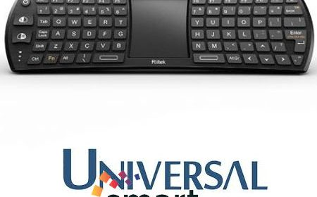 Tastatura ieftina Smart TV cu touchpad compatibila Android OS, TV Box, iPad